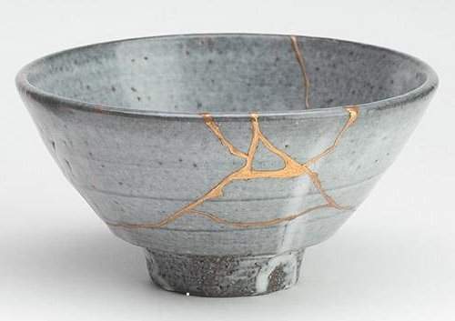 Image result for bowl repaired with gold